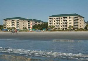 Beach view at a Marriott Timeshare Hilton Head Island