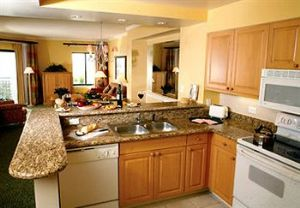 Fully Equipped Kitchen in a Marriott Timeshare Villa