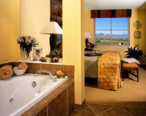 Grandview Las Vegas Bathroom in Timeshare Room