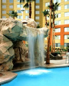 Amazing Pool and waterfall at Grandview at Las Vegas