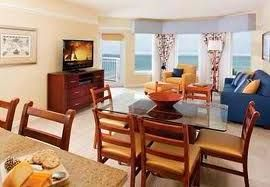 Dining Room in a Timeshare at Marriott Aruba Surf Club