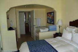Master Bedroom and Bathroom at Marriott's Aruba Timeshare Resort