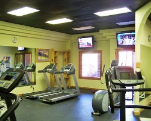 Fitness Room for those looking to get a workout in