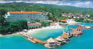 Sandals Grande Ocho Rios Beach Ocean View