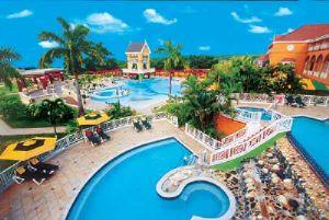 Poolside at Sandals Grande Ocho Rios Beach