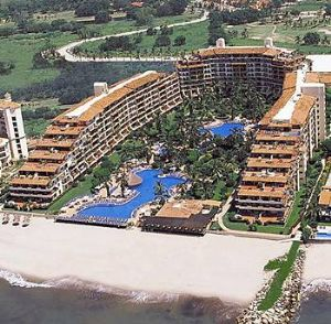 Full Velas Vallarta Grand Suite Resort View.