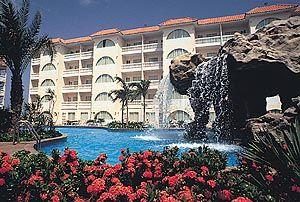 Tropicana Aruban Resort & Casino View.