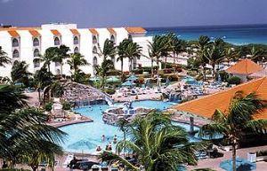 Tropicana Aruban Resort & Casino Pool Area.