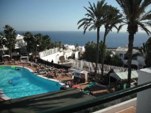 Outdoor Pool And Lounging Area At Club Del Carmen Spain