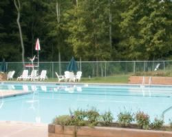 Pool Area At Shawnee Village.