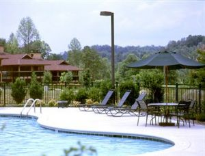 Outdoor Pool Area At Diamond Bent Creek Golf Village