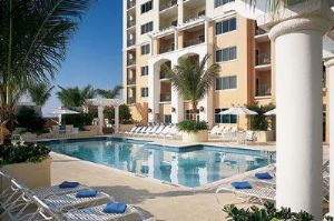 Great pool area at Marriott's Fort Lauderdale Timeshare