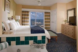 View of Master Bedroom in Timeshare Villa Fort Lauderdale Florida