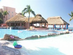 Pool Area At Vacation Internationale Torres Mazatlan.