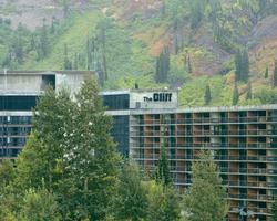 Front View of The Cliff at Snowbird Timeshare
