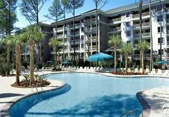 Pool area at Marriott Hilton Head Island Timeshare