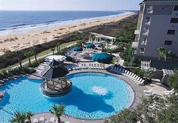 Ariel View of the Marriott's Barony Beach Resort Timeshare