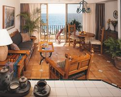 Living Area At Vacation Resorts International Vallarta Torre.
