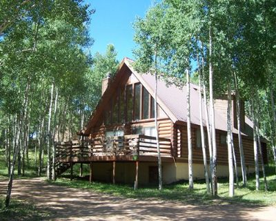 Many cabins available from Angel Fire Cabin Shares