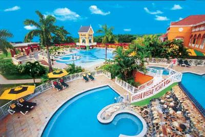Poolside at Sandals Grande Ocho Rios Beach