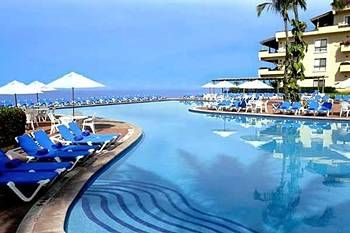Pool Area At Velas Vallarta Grand Suite Resort.