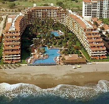 Full View From Velas Vallarta Grand Suite Resort.