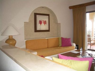 Living Area At Velas Vallarta Grand Suite Resort.