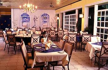 Tropicana Aruban Resort & Casino Dining Area.
