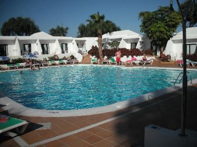 Outdoor Pool Area At Diamond Club Del Carmen Timeshare