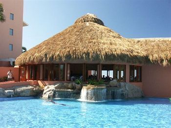 Pool Bar At Vacation Internationale Torres Mazatlan.