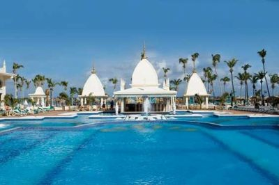 Royal Palm Club at the RIU Aruba Palace Poolside View
